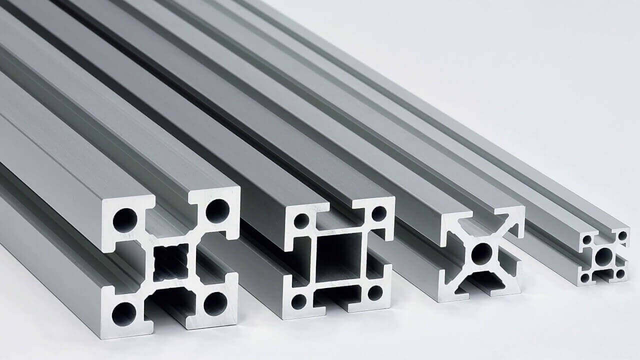 What is extruded aluminum used for?